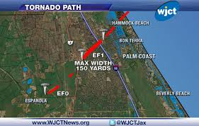 Weather Florida Map by Tornadoes Possible Overnight In Central South Florida Wjct News