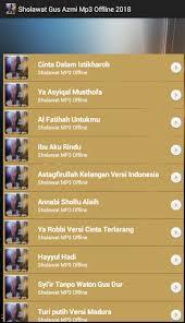 download mp3 gus azmi ibu aku rindu download kumpulan sholawat gus azmi mp3 offline 2018 google play