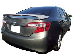 toyota camry spoiler toyota camry factory style spoiler australian style 2012 2014