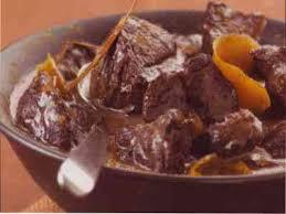 cuisiner le jarret de boeuf recette alsace jarret de boeuf braisé à l orange