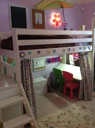 Ana White Camp Loft Bed With Stair Junior Height Diy Projects by Ana White Art Studio Loft Bed Diy Projects