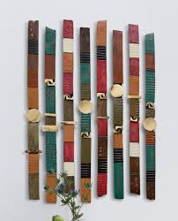 home sculptures story sticks by rhonda cearlock ceramic wall sculpture artful home