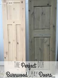 Reclaimed Barn Doors For Sale by From Gardners 2 Bergers The Perfect Diy Barnwood Gray Doors