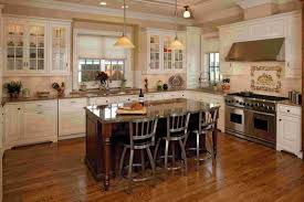 wondrous antique white kitchen cabinets with black island 72