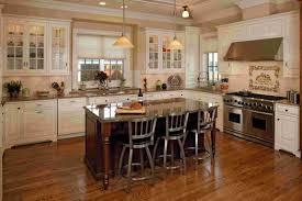 Dark Kitchen Island by Mesmerizing Antique White Kitchen Cabinets With Black Island 32