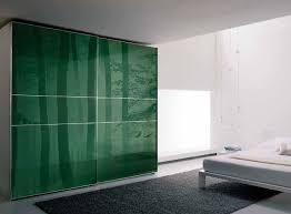 furniture confortable modern dark green wardrobe design idea with
