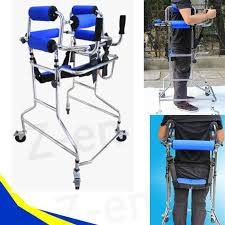 elder walker walk support aluminum alloy zimmer folding walking aid