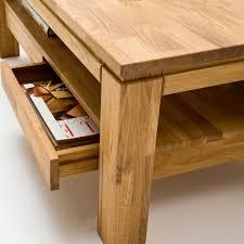 Wohnzimmertisch Holz Couchtisch Aus Wildeiche Fionora Pharao24 De