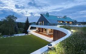 Slope House Original Modern House Design Turning Complex Terrain Into Dynamic Form