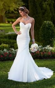 corset wedding dresses organza fit flare corset wedding dress stella york wedding dresses