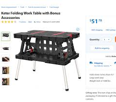 keter portable work table action dlattach attach 103398 image shop keter folding work table