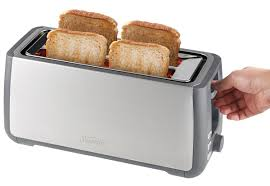 Sunbeam 2 Slice Toaster Sunbeam Ta4540 Long Slot 4 Slice Toaster Appliances Online