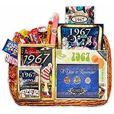 birthday gift basket 50th birthday or 50th anniversary gift basket home