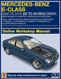 car repair manuals online free 2009 mercedes benz clk class engine control mercedes benz e class diesel 02 to 10 02 to 59 haynes online