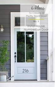 3 Perfect Ideas To Create 6 Ideas To Create A Pretty Front Door U2014 Interior Design Small