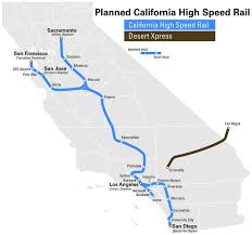 california high speed rail map california s high speed rail delayed by 3 years