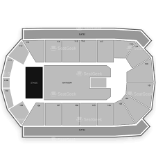 San Jose Convention Center Floor Plan 1stbank Center Seating Chart U0026 Interactive Seat Map Seatgeek