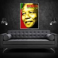 nelson mandela long walk to freedom poster wehustle menswear