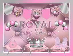 baby shower supplies printable royal princess pink baby shower decorations american