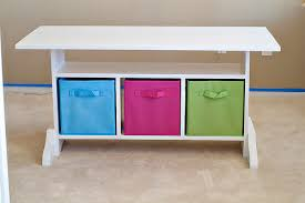 kids art table with storage ana white kid s elementary trestle storage play table diy projects