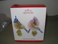 hallmark 12 days of ornament partridge ebay
