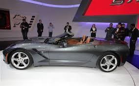 2014 convertible corvette 2014 chevrolet corvette stingray convertible side view photo