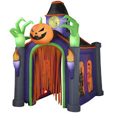 Light Up Halloween Tree by Halloween Decorations At Lowe U0027s Inflatables U0026 More