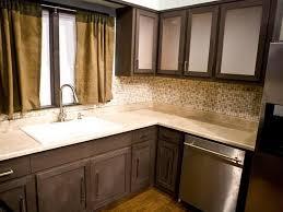Updating Kitchen Cabinet Doors by Dark Cherry Wood Kitchen Cabinets Brown Wooden Laminate Flooring
