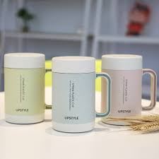 Porcelain Coffee Mugs by Upstyle Ceramic Cup Wheat Straw Plastic Appearance Porcelain Cups