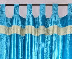 Turquoise Velvet Curtains Velvet Embroidered Curtains