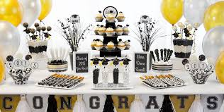 black and gold centerpieces chic ideas centerpieces for graduation party decorations