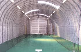 indoor batting cage or quonset style