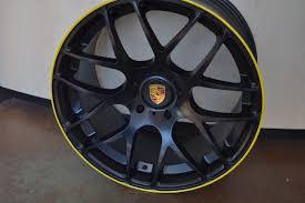 porsche spyder yellow porsche wheels rim 986 987 boxster s spyder 987c cayman r matte