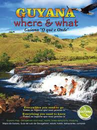Guyana Map Guyana Where And What 2015 By Guyana Where And What Issuu