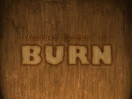 burn on wood burn text effect burnt wood photoshop font textuts