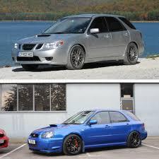 saabaru engine do you prefer the saab 9 2x aero or the subaru impreza wrx sti i