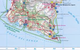 Portofino Italy Map Cinque Terre Italy 1 50 000 Hiking Map Gps Compatible Fb