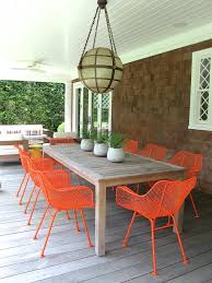 White Patio Dining Table And Chairs Painting Our Outdoor Dining Chairs Domestic Daddy Domestic Daddy