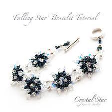 beading bracelet crystal images Bracelet tutorials collection crystal star gems jewellery jpg