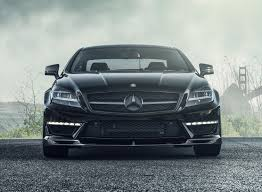 obsidian black color 2014 mercedes benz cls63 amg by vorsteiner front photo obsidian