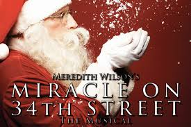 miracle on 34th street the musical to perform in burton and is