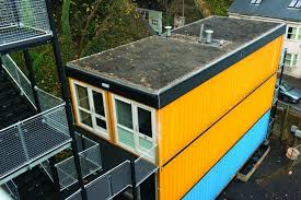 brighton u0027s pioneer shipping container development houses the