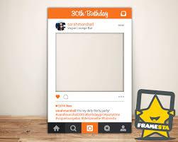 30 geburtstag partei instagram zeichen digitale datei