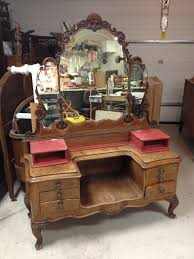 Antique Furniture Makeup Vanity For Custom Order Shabby Chic Painted Distressed