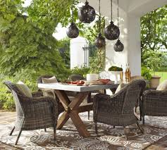 endearing pottery barn outdoor wicker furniture patio chairs home