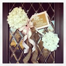 Welcome Home Baby Boy Decorations Baby Rattle Door Hanger Welcome Home Soooo Sweet All