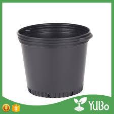cheap 12 inch large plastic flower pots gallon pot wholesale for