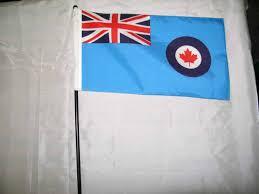Manitoba Flag Royal Canadian Air Force Flag Rcaf Flag Former Canadian