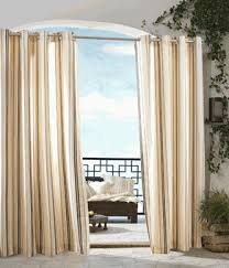 Outdoor Gazebo With Curtains Outdoor Curtains Outdoor Decor Gazebo Stripe Grommet Top Outdoor