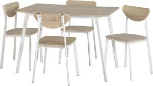 Dining Tables 4 Chairs Fjørde U0026 Co Amanda Dining Table And 4 Chairs U0026 Reviews Wayfair Co Uk